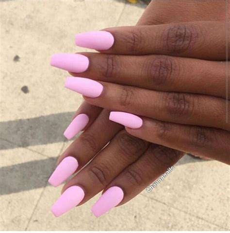 nail color for executive women beautiful pink nails on brown skin black woman nails