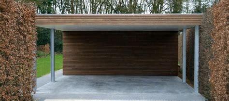 moderne carports moderne carports in hout livinlodge idee 235 n voor