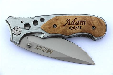 personalized pocket knifes groomsmen gifts personalized pocket knives by