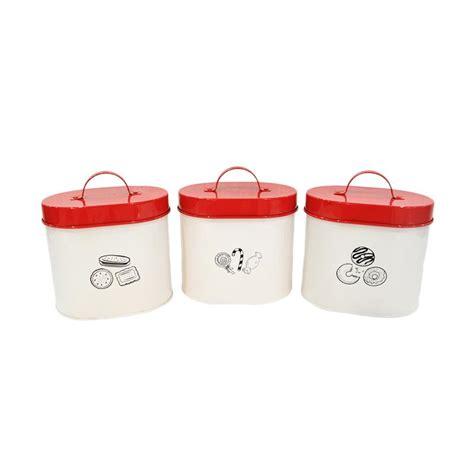 Atria Elianware Canister Set 3 Pcs jual atria furniture idaho canister set of 3 harga kualitas terjamin blibli