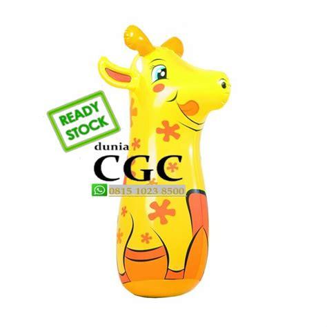 Promo Hari Ini Pompa Injek Bestway Jual Mainan Boneka Tinju Bob Bags Bestway Jerapah Kuning