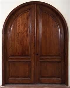 Arch Doors Exterior Arched Interior Doors Solid Wooden Arched Doors With Two Leaf Style Ideas