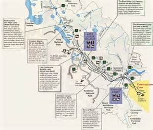 canada map banff w3perl canada banff plan