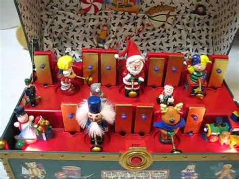 santa s musical toy chest cool musical animated
