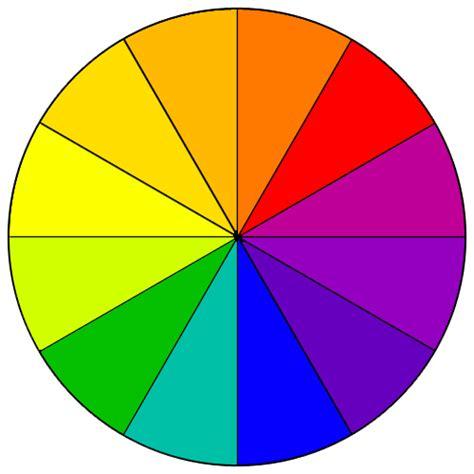 color wheel scheme colorwheel
