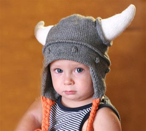 knit viking hat viking hat child knit hat viking hat with hornes