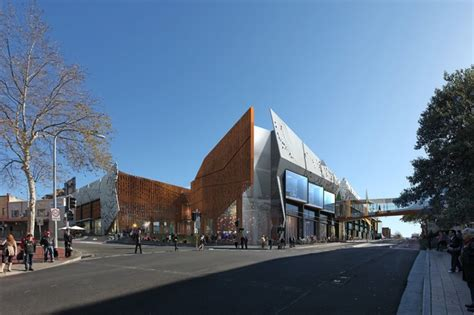 wollongong central shopping centre expansion architectureau
