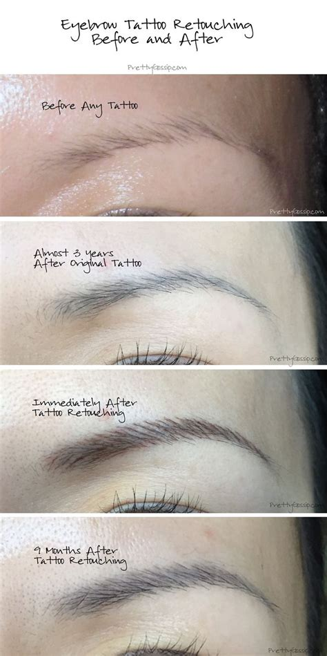 how to make a permanent tattoo 170 best permanent make up before after images on
