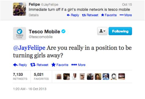 tesco mobile network provider the expert brand guide to trolling customers on