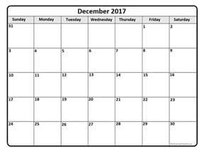 Calendar December 2017 December 2017 Calendar With Us Holidays
