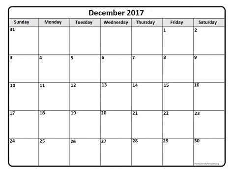 printable monthly calendar for december december 2017 calendar december 2017 calendar printable