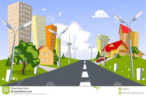 Duplex Building Plans vector city summer stock image image 18636761