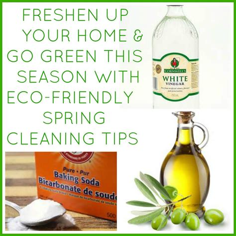 going green in your home eco friendly spring cleaning tips
