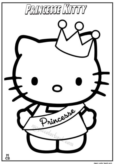 Princess Kitty Coloring Pages Princess Cat Coloring Pages Free Coloring Sheets
