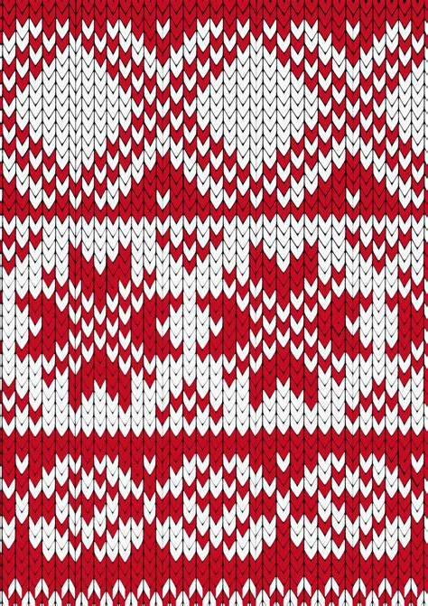 knit pattern vector crimson knitting pattern background vector free vector