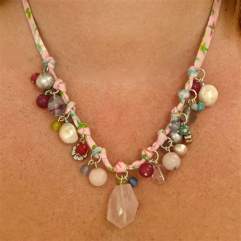 Handmade Necklaces - handmade vintage style pearl necklace by chapel cards