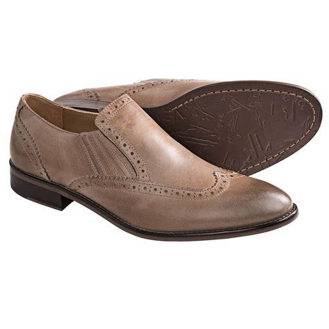 johnston murphy holbrook wingtip venetian shoes slip