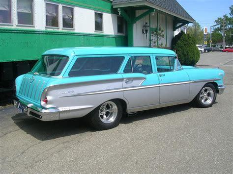 1958 chevrolet nomad custom station wagon barrett