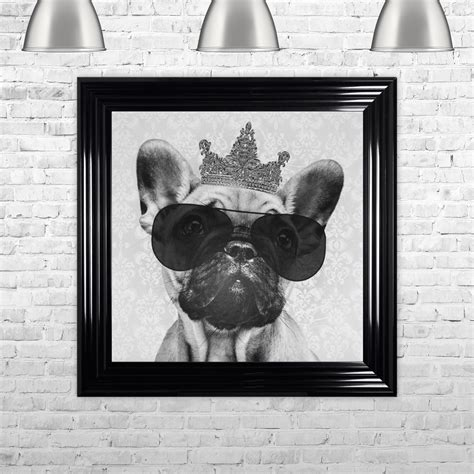 Shh Interiors by Shh Interiors Bulldog With Crown Made With