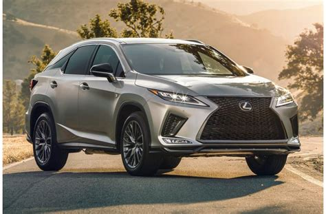 refreshed  lexus rx       news