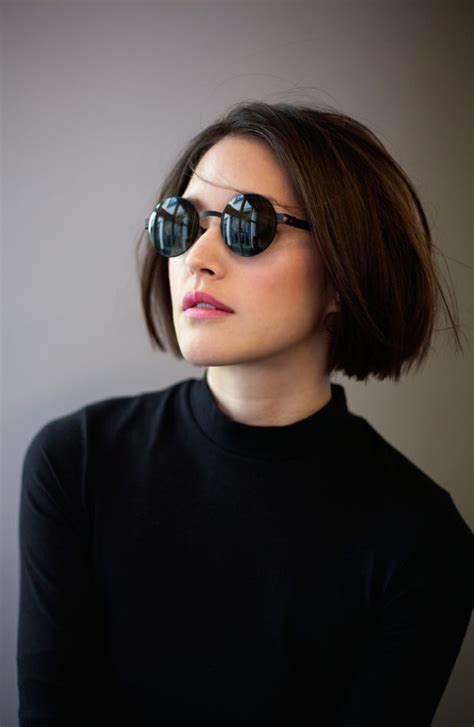 chin length hairstyles with glasses 16 charming black bob hairstyles for 2017 pretty designs