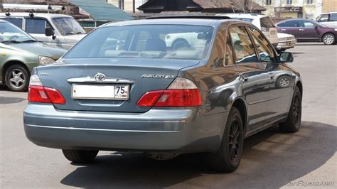 2002 Toyota Avalon Mpg 2002 Toyota Avalon Sedan Specifications Pictures Prices