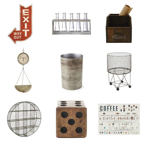 decor items shopping guide inexpensive industrial decor taryn whiteaker
