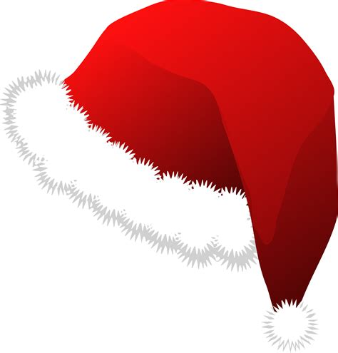 clipart santa claus hat