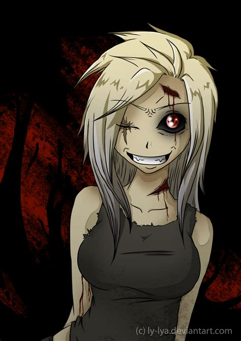 anime zombie 2017 zombie girl by h chan arts on deviantart