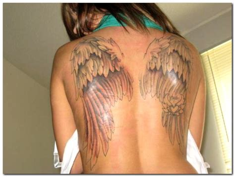 tattoo angel wings back angel tattoos and designs page 375