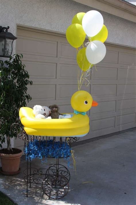 rubber duck decorations rubber ducks baby shower ideas photo 5 of 22