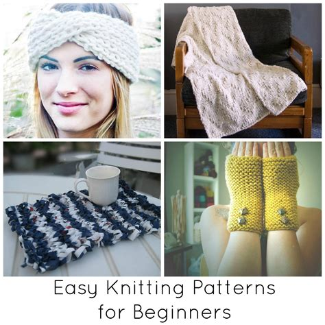 knitting projects for beginners easy knitting patterns for beginners beyond scarves