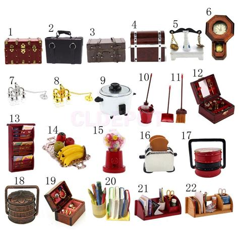 doll house accessories dollhouse miniature doll family furniture kits for 1 12 doll house accessories ebay