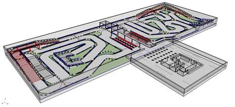 Wide Open Floor Plans by The Day Sports Complex Will Open Indoor Go Kart Track In