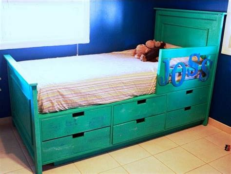 diy bed with storage 10 smart diy storage bed design ideas