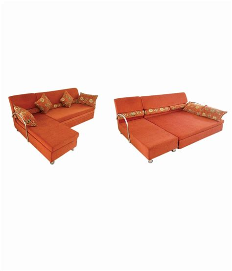 sofa cum bed buy online india lomani sofa cum bed with mattress buy online at best