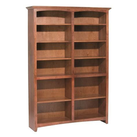 48 Wide Bookcase whittier wood bookcase collection 48 quot wide