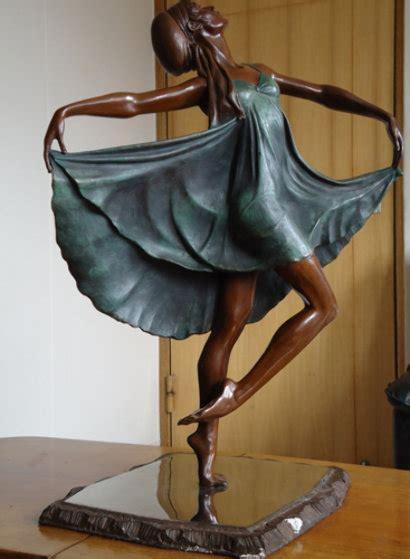 Untitled Dancer Bronze Sculpture by Victor Villarreal