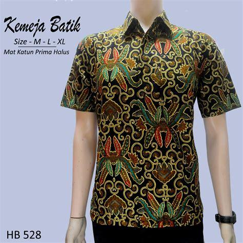 Blouse Batik By Ratoe Modern kemeja batik modern hb 528 pripoen batik pekalongan