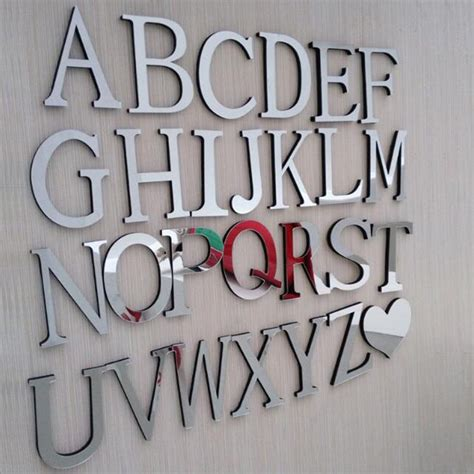 home decor letters of alphabet diy wedding letters home decoration letters