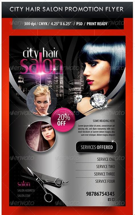 beauty salon flyer template 75 free flyer templates photoshop psd download