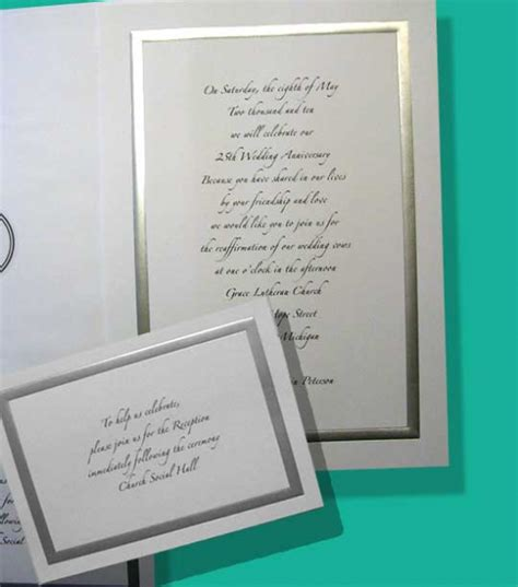 Invitation Letter 25th Wedding Anniversary Sle Invitation Letter For Church Anniversary Just B Cause