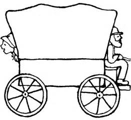 61 Images Of Pioneer Wagon Clipart  You Can Use These Free Cliparts sketch template