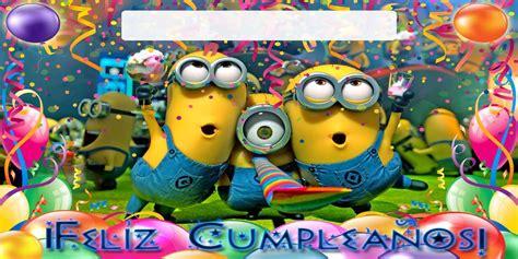 imagenes de feliz cumpleaños amiga de los minions imagenes de minions de feliz cumpleanos tiernas imagenes