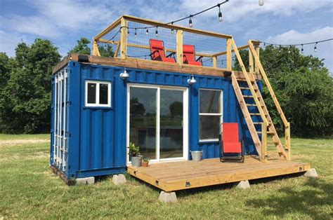 One Story Log Cabin Floor Plans by This Quirky Shipping Container Home Is Cozy And Affordable