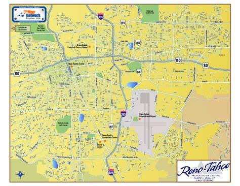 reno map downtown reno nevada map reno nv mappery