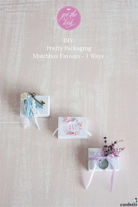 diy wedding favours uk diy pretty matchbox wedding favours confetti co uk