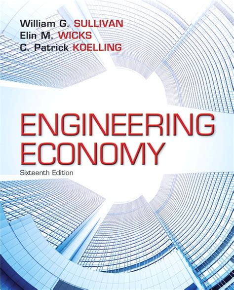 Engineering Economics For Resourcesoriginal pearson education higher and professional education bookshop