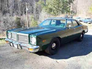 purchase used 1975 dodge coronet 4 door sedan signed by 4