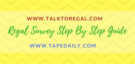 dq fan feedback survey talktoregal talk to regal survey win 100 www